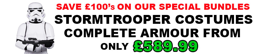 Ready to Wear Stormtrooper Costumes for £899.99